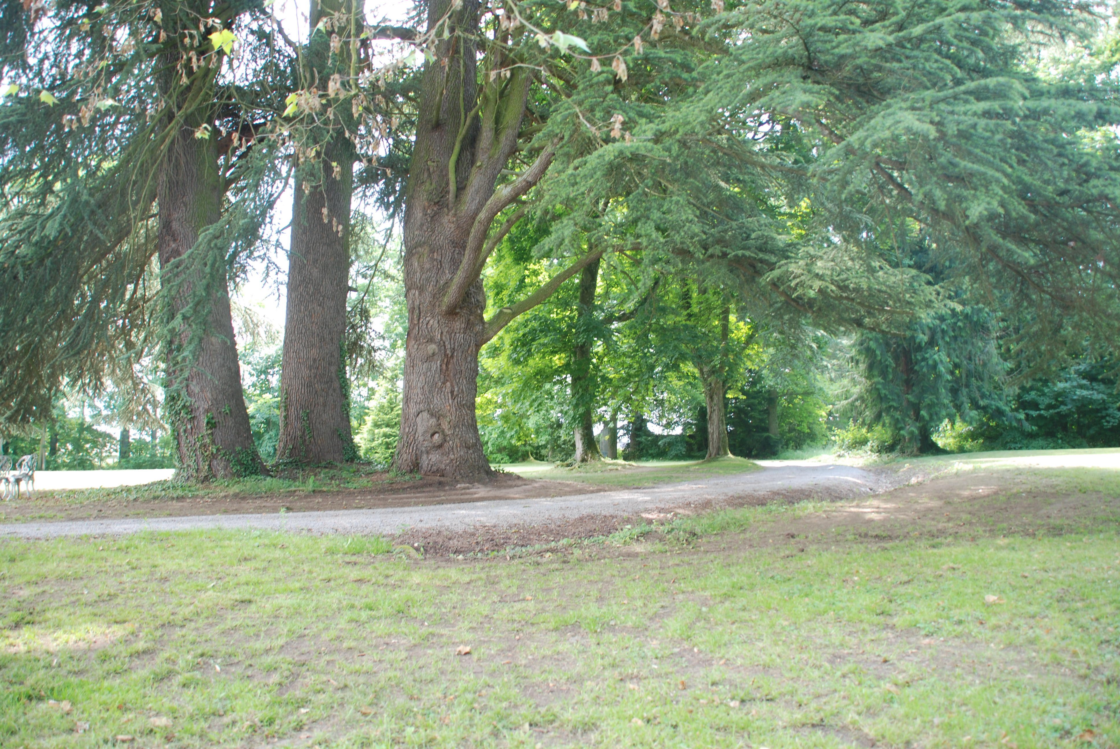 Parc of Chateau Les Bardons