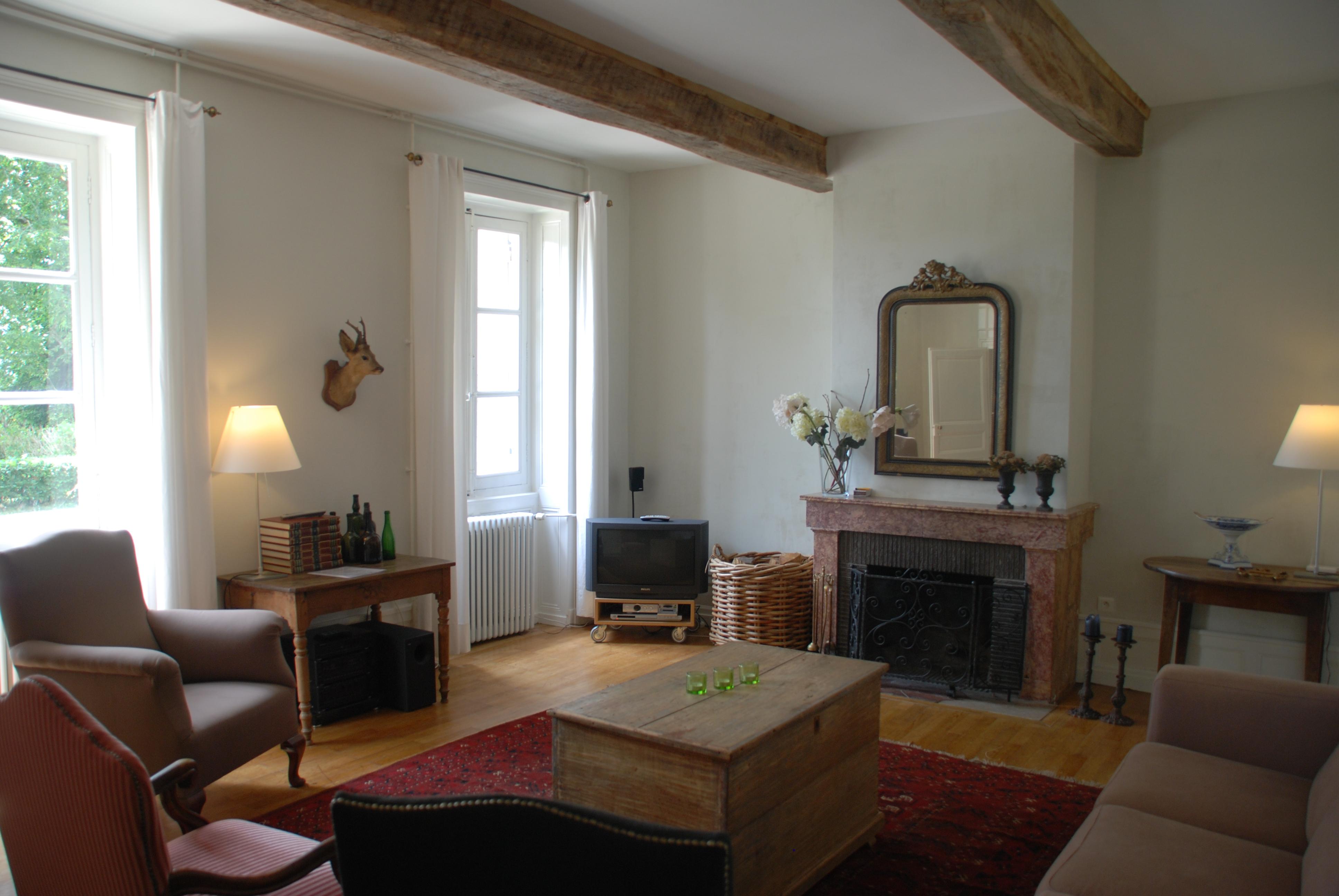 Chimney at Maison Les Bardons