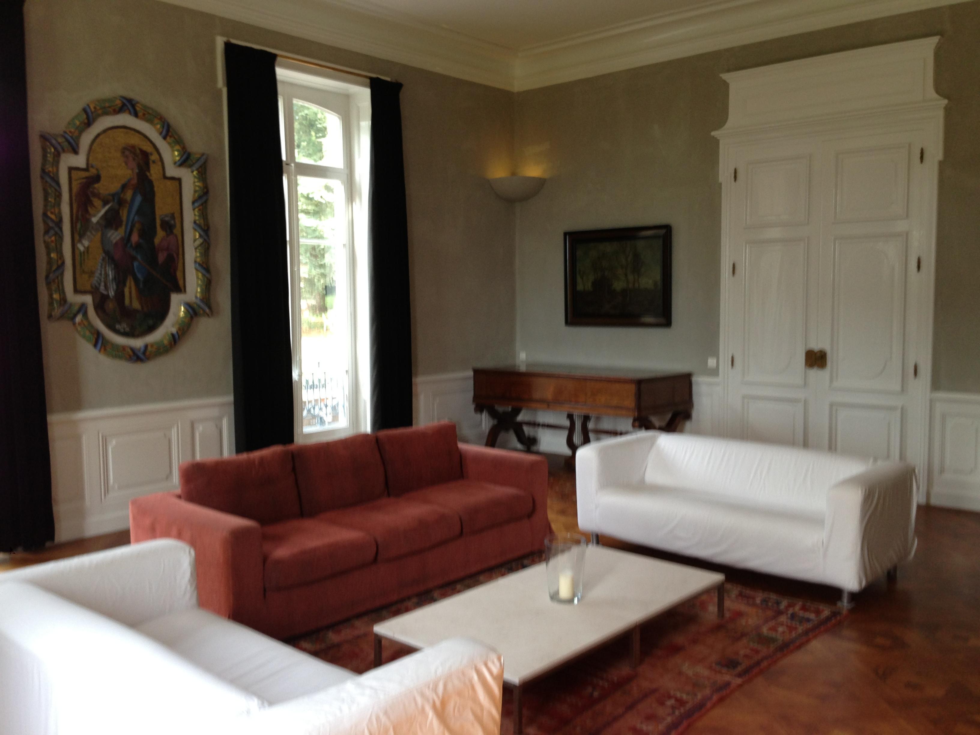 Sitting-room with mozaiek