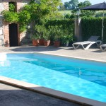 Zoutwater zwembad Maison Les Bardons