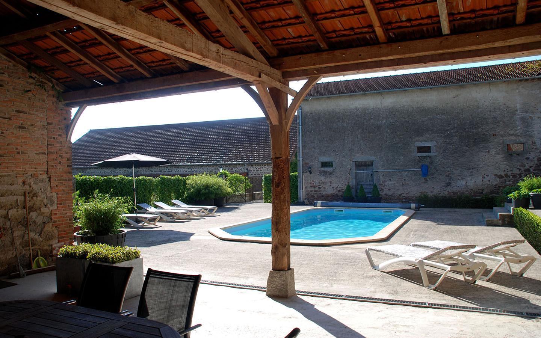 Verwarmd zwembad 10*4