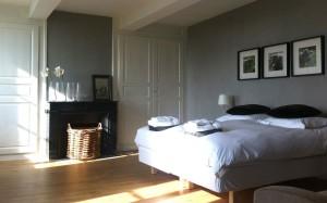bedroom at Les Bardons